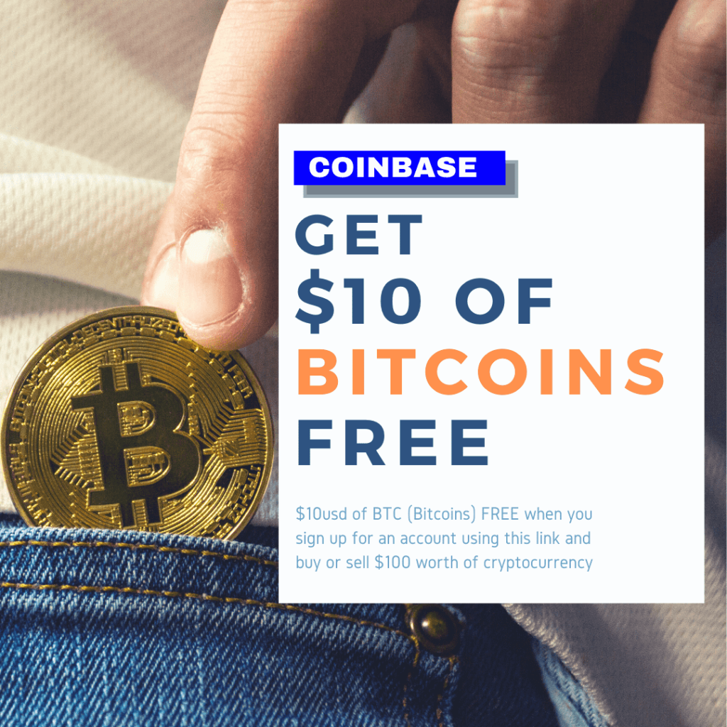 Get $10 of BITCOIN FREE